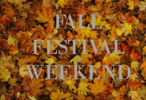 What's Happening on Fall Weekend