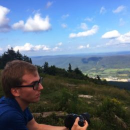 Fairchild at Mount Greylock Summit. Photo by Patrycja Bracik.